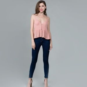 Tops - Peach Camisole Blouse